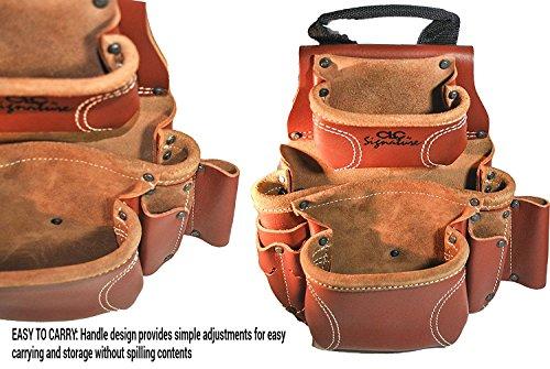 CLC Custom Leathercraft 21448 15 Pocket, 4 Piece Pro Framers Combo System Tool Belt by Custom Leathercraft (Image #4)