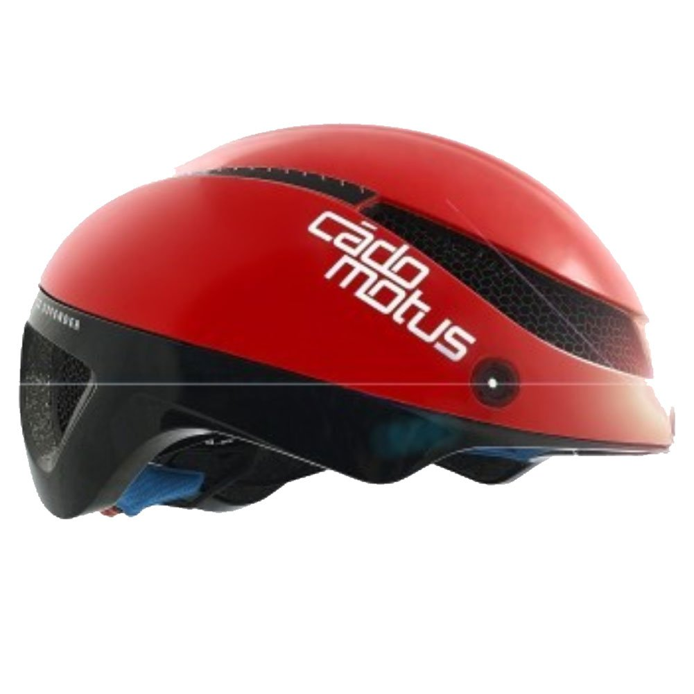 Cádomotus Omega Aerospeed Helmet - Red Black-Large by Cádomotus