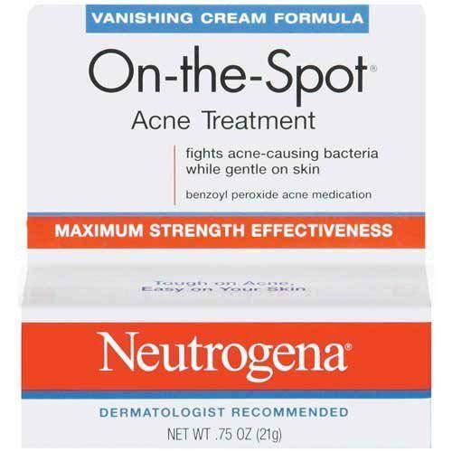 Formula Vanishing (Neutrogena Vanishing Cream Formula On-The-Spot .75 Oz Box - 24 per case.)