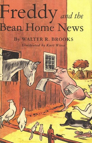 book cover of Freddy and the Bean Home News