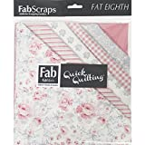 Shabbylicious-9''X21'' Fat Eighths 12Pcs-Pink