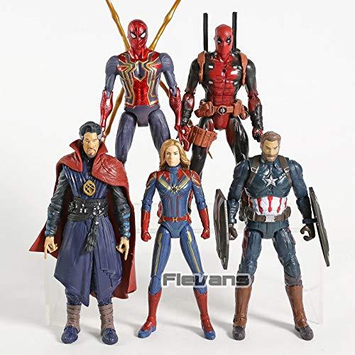 Amazon.com: VIETXD Comics Captain Doctor Strange PVC Action ...