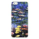 OnlineBestDigital - Art Paintings Hardback White Case for Apple iPhone 6 / 6S (4.7 inch)Smartphone - Water Lilies by Claude Monet
