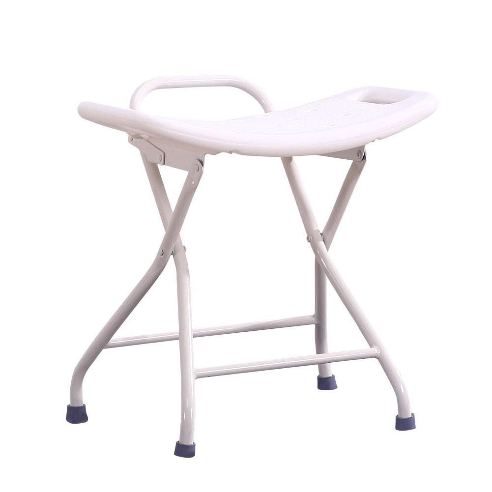 BEAUTY--shower stool Old Man Household Fold Safety Small Chair Non-Slip Plastic Bench Thicken Portable Medical Stool