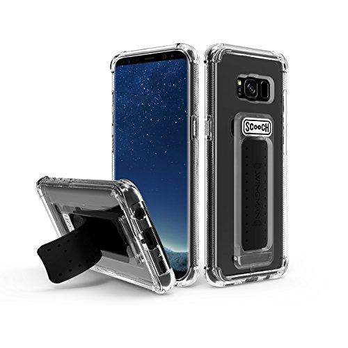 Scooch Wingman 5-in-1 Case for Samsung Galaxy S8+ (Clear) ()