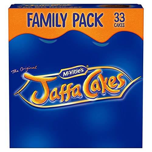 Original McVitie's Jaffa Cakes Big Pack Imported From The UK England The Very Best Original British Jaffa Cakes A Genoise Sponge Base Layer Of Orange Flavored Jam Coating Of Sponge ()