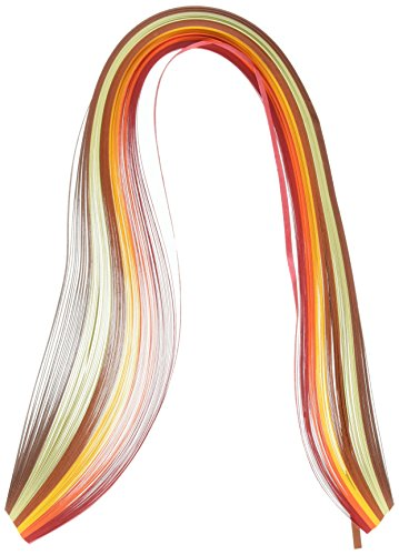 Price comparison product image Quilled Creations Mixed Color Quilling Paper,  1 / 8-Inch,  Autumn,  100 Per Package