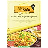Kitchens Of India Biryanis Hyderabadi Biryani, Basmati Rice Pilaf with Vegetables, 8.8-Ounce Boxes (Pack of 6 ) by Kitchens Of India
