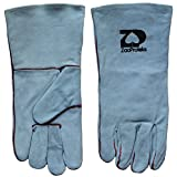 ZaoProteks ZP1703 Cowhide Leather Heat Resistant Welding Gloves ,Work Gloves - Large