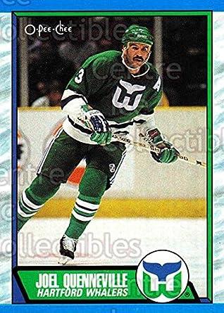 8a754d7dd Amazon.com  (CI) Joel Quenneville Hockey Card 1989-90 O-Pee-Chee ...
