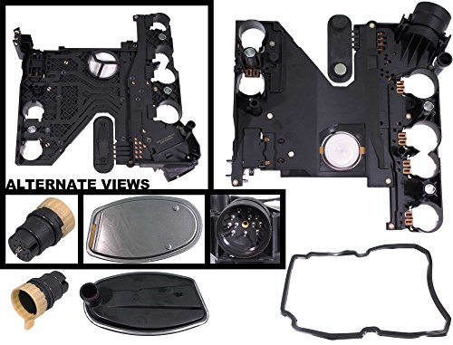 Mercedes Speed Sensor - APDTY 028780 Transmission Conductor Plate Complete Kit Includes Valve Body Plate, VSS Vehicle Speed Sensor, Adapter Plug, Filter, & Gasket (Replaces Mopar 68049181AA; Mercedes 1402701161, 2035400253)