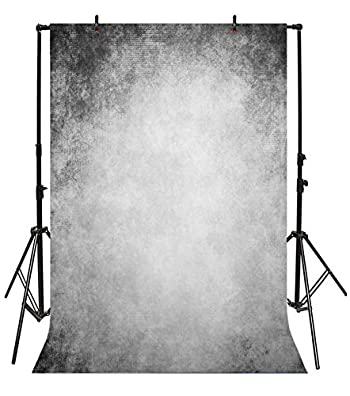 Yeele Grunge Backdrops 3x5ft/1 X 1.5M Smoky Grey Black Grey Wall Cement Wall Pictures Adult Artistic Portrait Photoshoot Props Photography Background