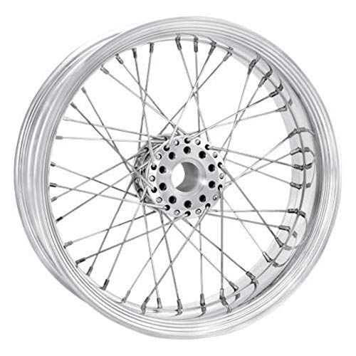 Wire Front Merc Chrome - Performance Machine Merc Wire Chrome Front Wheel, 21