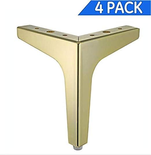 Amazon.com: Juego de 4 patas para muebles (6.9 in), diseño ...
