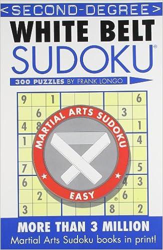 Book Second Degree White Belt Sudoku (Martial Arts Sudoku)