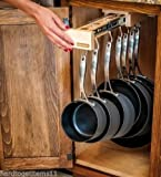 Single Glideware Cookware Organizer with 7 Hooks