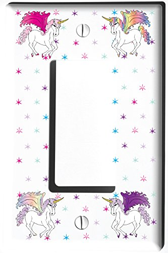 Unicorn Horse Light Switch Plate and Outlet Covers/Unicorn P