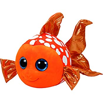 5f20588382692 Ty Beanie Boo Buddy ~ Sami The Orange Fish 28cm