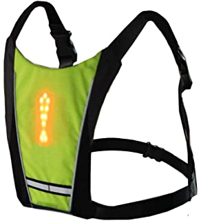 Efficient Lixada Bike Bag Usb Reflective Vest With Led Turn Signal Light Remote Control Sport Safety Bag Gear For Cycling Jogging Available In Various Designs And Specifications For Your Selection Bicycle Bags & Panniers