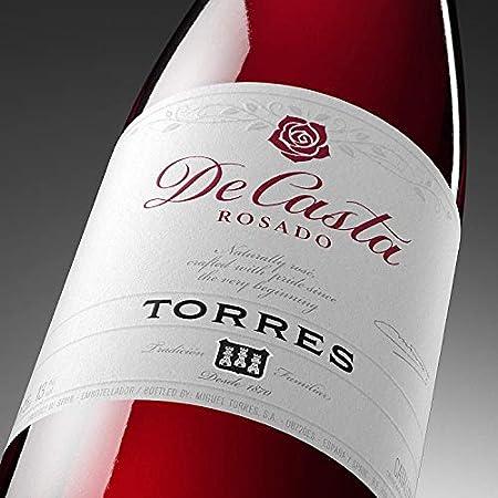 De Casta, Vino Rosado - 6 botellas de 75 cl, Total: 4500 ml