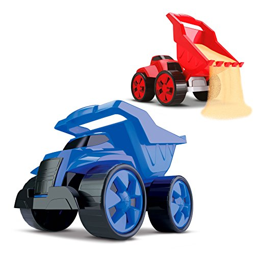 Cardoso 1019 - Combo 2 em 1 Tractor and Truck, Large 24cm, cores sortidas
