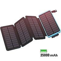 25000mAh Solar Charger FEELLE Solar Powe...