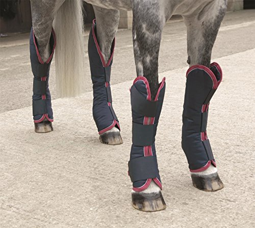 Shires Equestrian - Shires Travelmates - Navy - Size: L by Shires