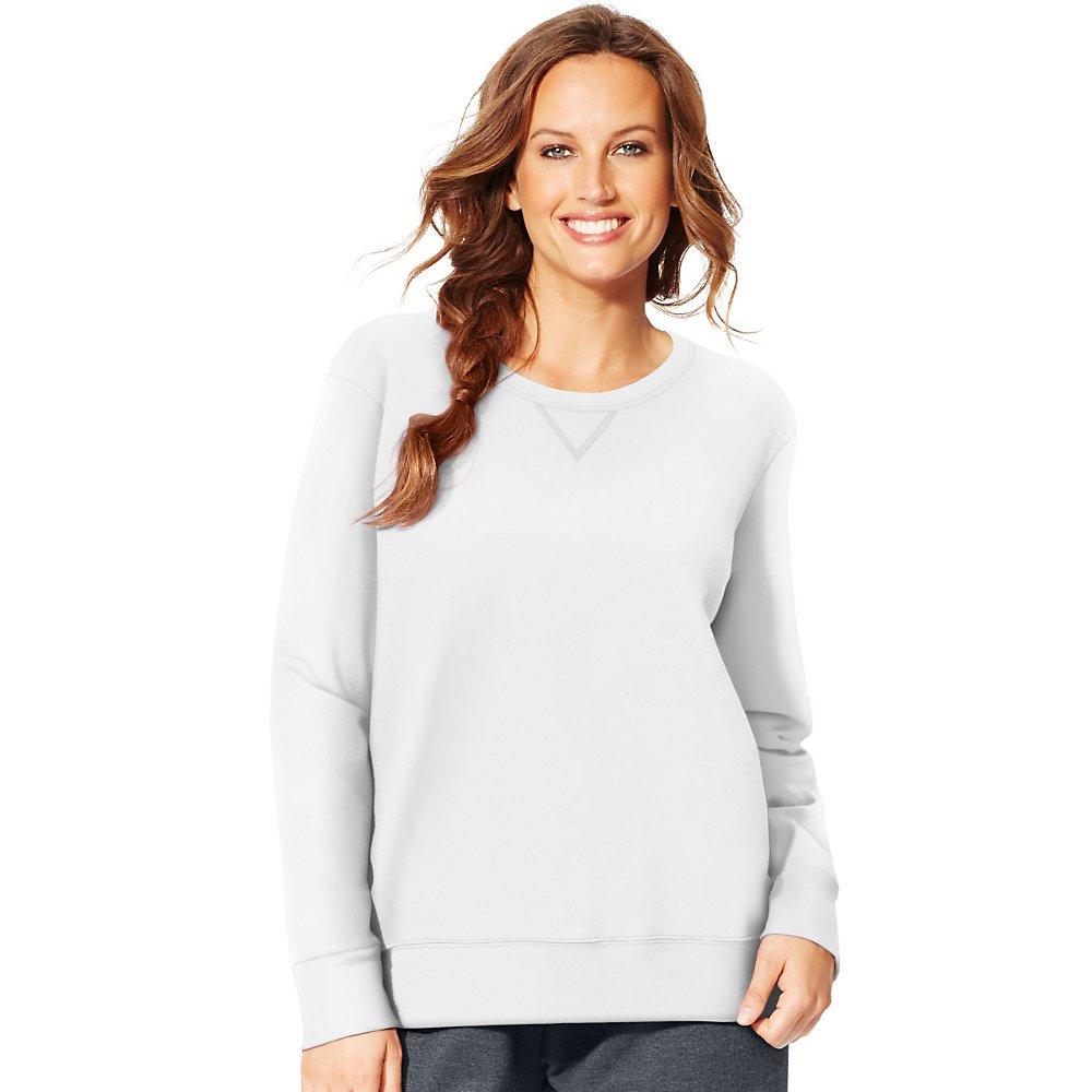 Just My Size Womens Plus-Size V-Notch Sweatshirt