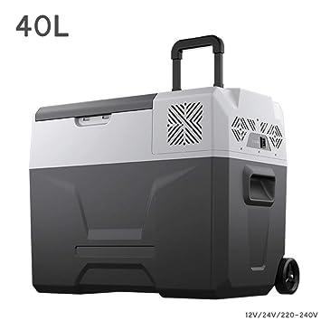 WJSW Compresor Cool Box Camping Nevera Camión 24V / 12V / 220-240V ...