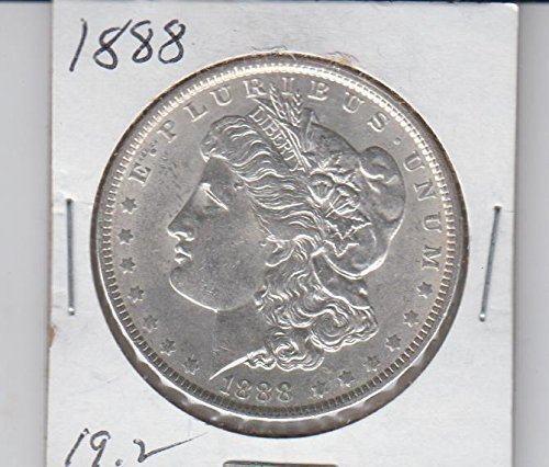 1888 Morgan Silver Dollar $1 - Antique Coins Dollar