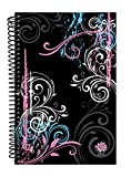 "Bloom Daily Planners 2017 Calendar Year Daily Planner - Passion/Goal Organizer - Fashion Agenda Weekly Diary - Monthly Datebook Calendar - January 2017 - December 2017 - 6"" x 8.25"" - Black"