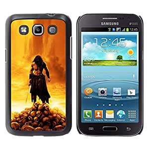 Samsung Galaxy Win / i8550 / i8552 / Grand Quattro , Radio-Star - Cáscara Funda Case Caso De Plástico (Barbarian War Lord)