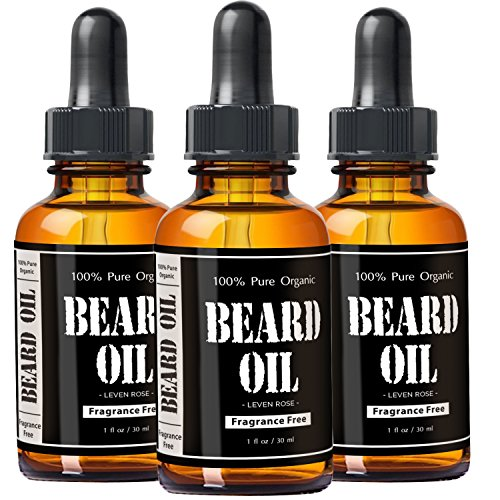 leven rose fragrance free beard oil and leave in. Black Bedroom Furniture Sets. Home Design Ideas