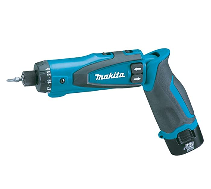 Makita DF010DSE 7.2-Volt Lithium-Ion Cordless Driver-Drill Kit with Auto-Stop Clutch
