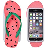 BACK CASE 3D Wassermelone Flip - Flop rosa für Samsung Galaxy J5 2016 J510FN J510F Hülle Cover Case Schutzhülle Tasche