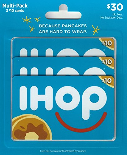IHOP Gift Cards, Multipack of 3 - $10 (Sonic Gift Cards Restaurant)