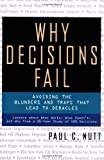 Why Decisions Fail, Paul C. Nutt, 1576751503