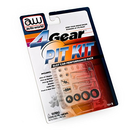 4-Gear Slot Car Pit Kit (Slot Gear Car)