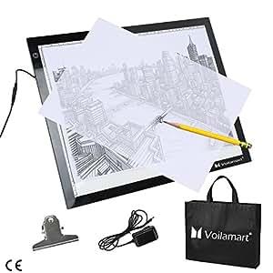 Voilamart A3 LED Copy Board Ultra-Thin LED Tracing Board Dimmable Brightness Artcraft Animation Drawing Stencil Pad Panel Illumination Light Box