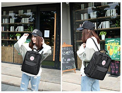 Scuola Della Per Laptop Pc Borsa Zaino Studenti Nero Tibes Backpack Schoolbag Azzurro 5tI1qwWp