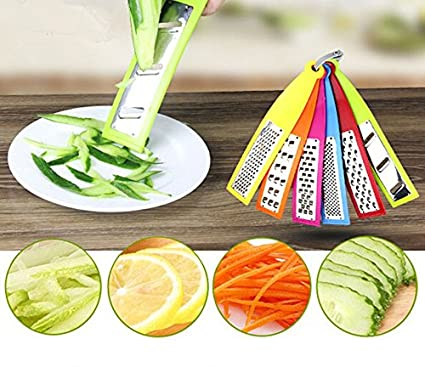 Rianz Vegetable Micro Plane Grater / Fruit Vegetable Tools / Cheese Slicer / Speedy Chopper For Kitchen Accessories Graters & Slicers at amazon