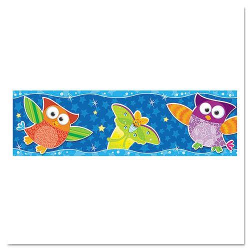 Bolder Border Star - TREND ENTERPRISES INC. OWL STARS BOLDER BORDERS (Set of 3)