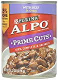 Alpo Prime Cuts in Gravy Canned Dog Food, Beef, 13...