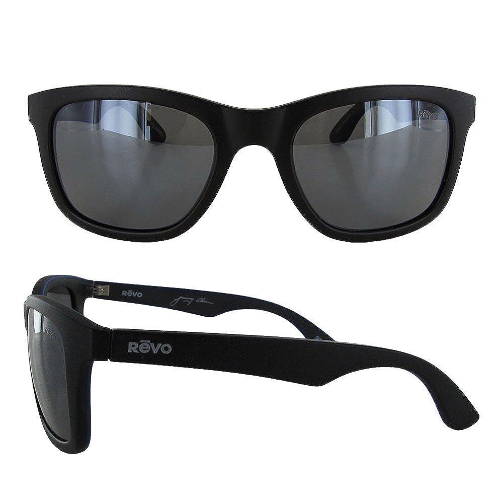 60fd00fe6b Amazon.com  Revo Huddie Polarized Square Sunglasses