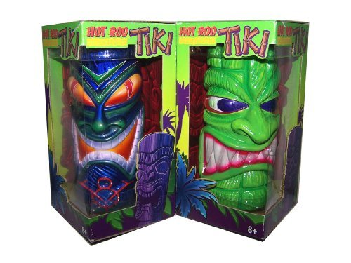 Hot Rod Underground Kustom Kulture Tiki - Various Colors and Designs