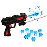 2-in-1 Shooting Gun Toy Foam Dart and Water Polymer Ball and Infrared Lighting function for Kids( Random Color, 1 Pcs)