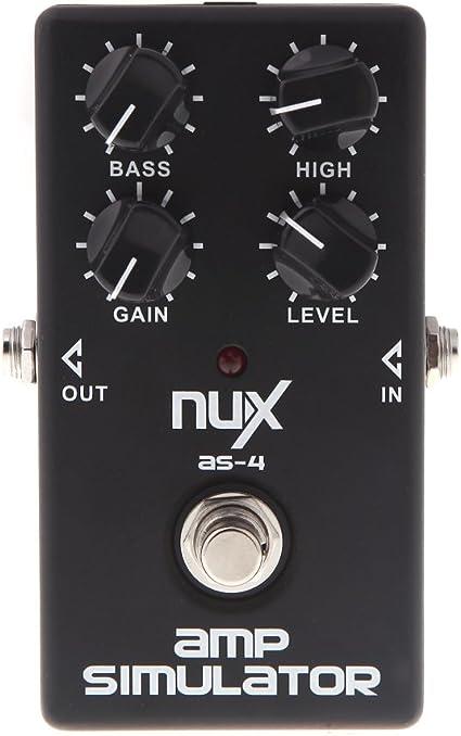 Nux CH de 3 Guitarra eléctrica Pedal de efecto chorus Bellas BBD ...