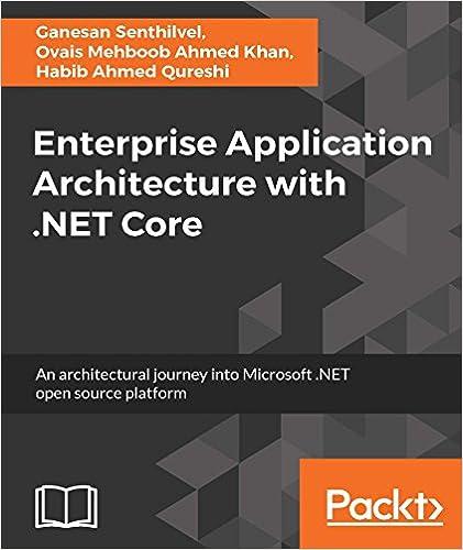 Amazon Enterprise Application Architecture With NET Core EBook Magnificent Patterns Of Enterprise Application Architecture
