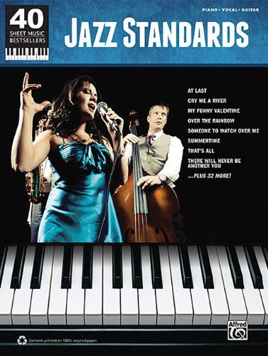 40 Sheet Music Bestsellers: Jazz Standards PVG (2011-07-01) (Pvg Sheet Book Music)