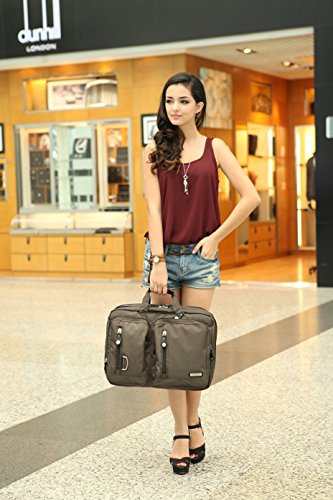 FreeBiz-173-Inches-Multi-function-Laptop-Briefcase-Backpack-with-Handle-and-Shoulder-Strap-Fits-Up-To-173-Inch-Laptops